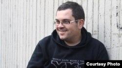 Антонио Даниловски, активист на Младински образовен форум, МОФ.