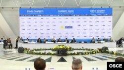 Ýewropada howpsuzlyk we hyzmatdaşlyk guramasynyň Forumy, Astana, 26-njy noýabr.