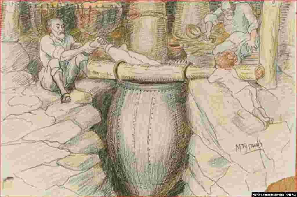 Туганов Махарбек. Дзуаран (цIуйн делан) дуьхьа. ХIирийчоь. 1920-гIа шераш.