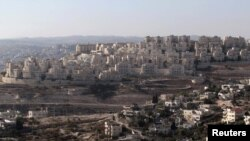 Israel -- A view of a Jewish settlement Har Homa near Jerusalem, 08Dec2010