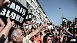 Протестные выходные Турции
