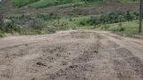 Дорога на подъезде к селу Курортное
