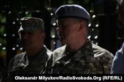 Командующий ССО Игорь Лунев и Герой Украины Александр Трепак. Июнь 2018 года, Одесса