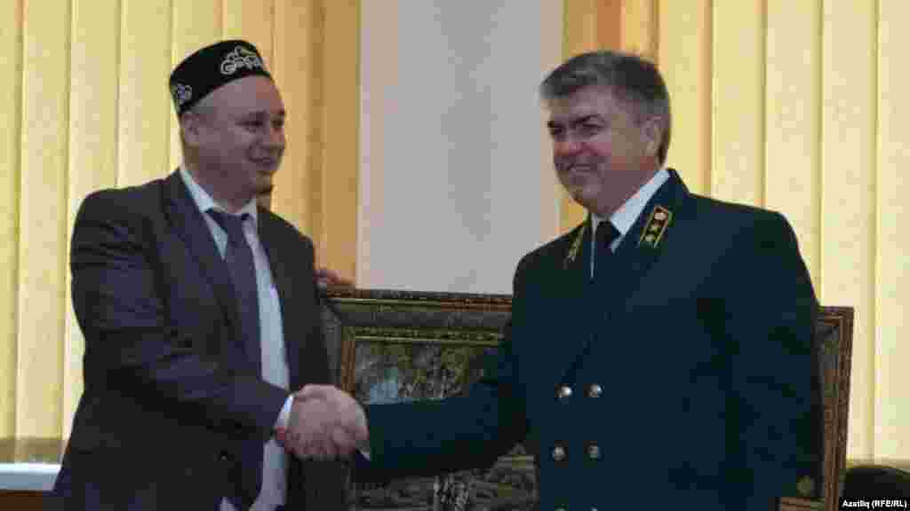 Сулдан: Кырымның урман хуҗалыгы башы Иван Магда, Татарстанның урман хуҗалыгы министры Наил Магдеев