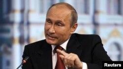 Ресей президенті Владимир Путин. Санкт-Петербург, 23 мамыр 2014 жыл.