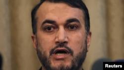 Заместитель министра иностранных дел Ирана по делам Ближнего Востока и Африки Хусейн Амир Абдоллахиан.