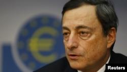 Kreu i Bankës Qendrore Evropiane, Mario Draghi.