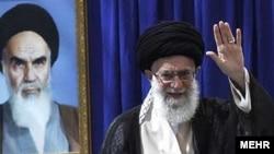 İranın ali dini lideri Ayatollah Ali Khamenei