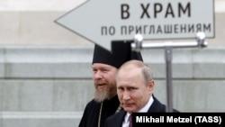 Тихон (Шевкунов) и Владимир Путин