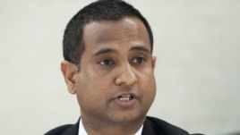 "Ahmed Shaheed, the UN special rapporteur on Iran, said the human rights situation in Iran appears to be getting ""worse."""
