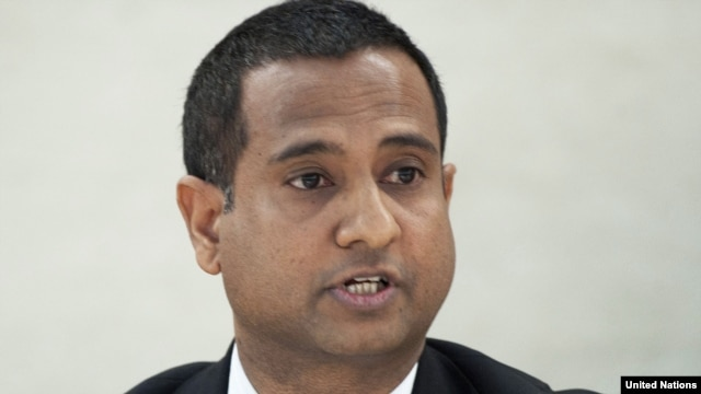 Ahmed Shaheed, the UN special rapporteur on Iran, said the human rights situation in Iran appears to be getting 'worse.'
