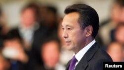Сауат Мынбаев в бытность главой национальной нефтегазовой компании «КазМунайГаз».
