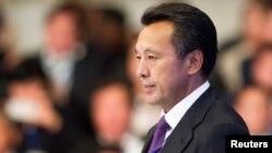 «ҚазМұнайГаз» ұлттық компаниясының басқарма төрағасы Сауат Мыңбаев. Астана, 7 қыркүйек 2013 жыл.