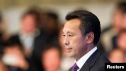 """Сауат Мынбаев, председатель правления национальной компании """"КазМунайГаз"""". Астана, 7 сентября 2013 года."""
