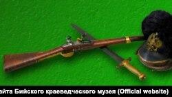 Оружие из Бийского краеведческого музея