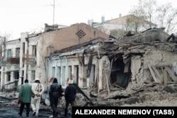 Так выглядел Грозный в январе 1995 года