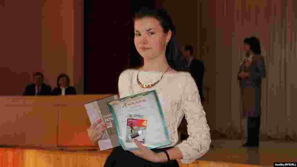 Чишмә районыннан Алия Янбарисова