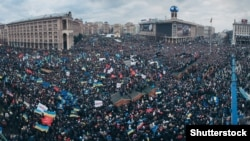 Demonstracije na Trgu Majdan