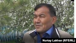 Аким сельского округа Сержан Аңдасбаев.