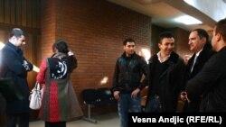 Palata pravde u oči suđenja Zvezdanu Terziću, Beograd, 17. januar 2011.