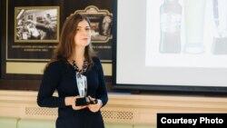 Людміла Стручэўская з узнагародай Crystal Taste Award