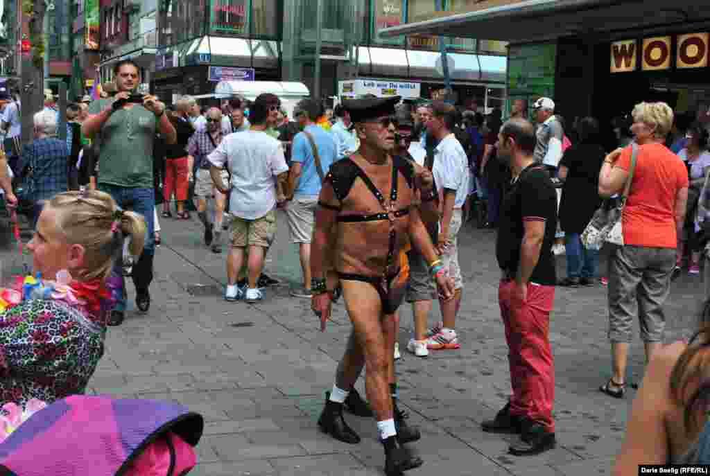 Сборы на парад. Мангейм, август 2013