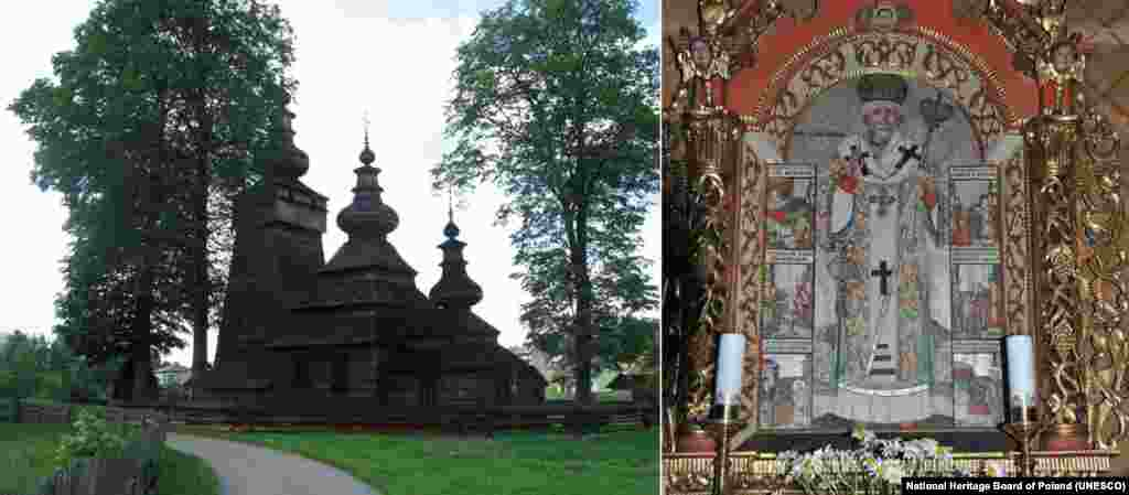"According to UNESCO, ""The tserkvas bear testimony to a distinct building tradition rooted in Orthodox ecclesiastic design, interwoven with elements of local tradition."""