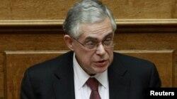 Грчкиот премиер Лукас Пападимос