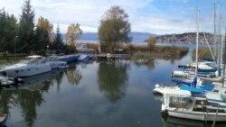 Kаналот Билјанини Извори во Охридско езеро.