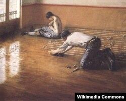 Гюстаў Кайбот, «Паркетчыкі» (1876)