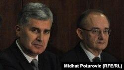 Lideri dva HDZ-a, Dragan Čović i Božo Ljubić