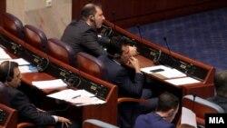 Архивска фотографија- премиерот Зоран Заев на седница во Собранието