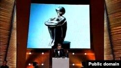 Выступление Леонида Парфенова на церемонии вручения премии имени Влада Листьева