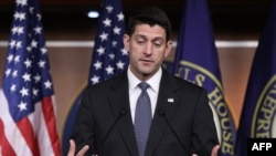 U.S. Speaker of the House Paul Ryan (file photo)
