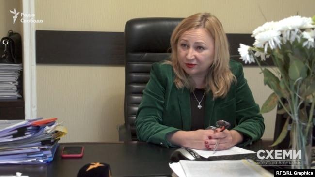 Сама Оксана Данич звинувачення на свою адресу відкидає
