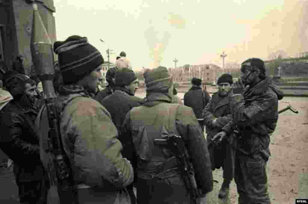 Беренче чечен сугышын фотога төшерү #3