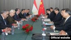12 сентября 2013 года, таджикско-китайская встреча в Душанбе