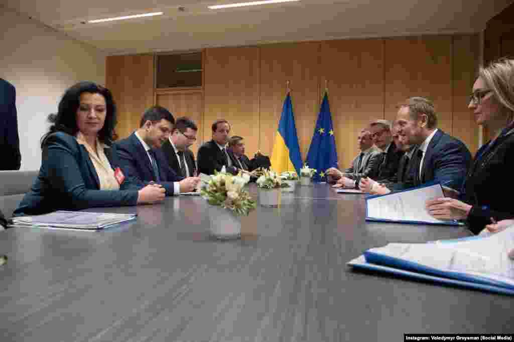 Із європейськими політиками у Брюсселі
