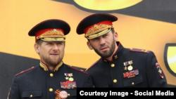 Рамзан Кадиров і Магомед Даудов. Росія