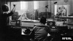 Перша студія Радіо Свободи в Мюнхені, 1950-і роки
