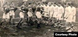 Таварыскі матч: «Спартак» супраць гамбурскай «Канкордыі», 1958 год