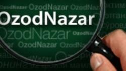 Ғолиббек Холназаровнинг OzodNazarи: