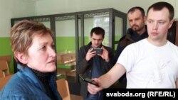 Галина Абакумчик в суде