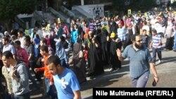 """Выступления сторонников движения """"Братья-мусульмане"""". Каир, 15 ноября 2013 года."""