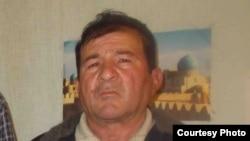 Житель Самаркандской области Бахадыр Сарымсаков, который планировал провести пикет у здания президентского аппарата в Ташкенте.