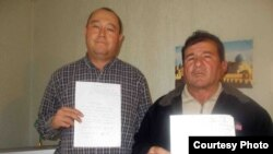 Самаркандцы Джамшид Шамурадов (слева) и Бахадыр Сарымсыков.