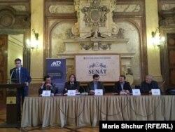 У Великому залі Сенату Чехії говорили про злочини комунізму
