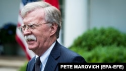 U.S. national security adviser John Bolton (file photo)