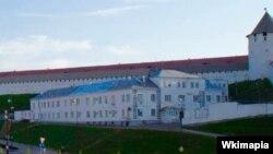 Казан Кирмәне янында элек онкология хастаханәсе урнашкан бина