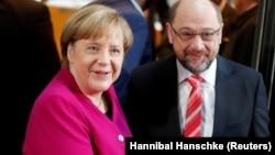 Kansler Angela Merkel və Martin Schulz koalisiya barədə razılığa gəliblər